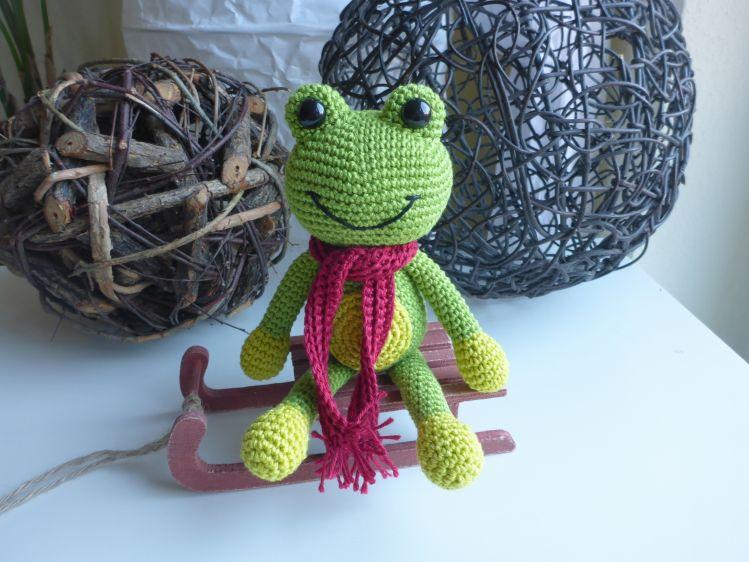 Fridolin Frosch Häkelanleitung Mypatternsde
