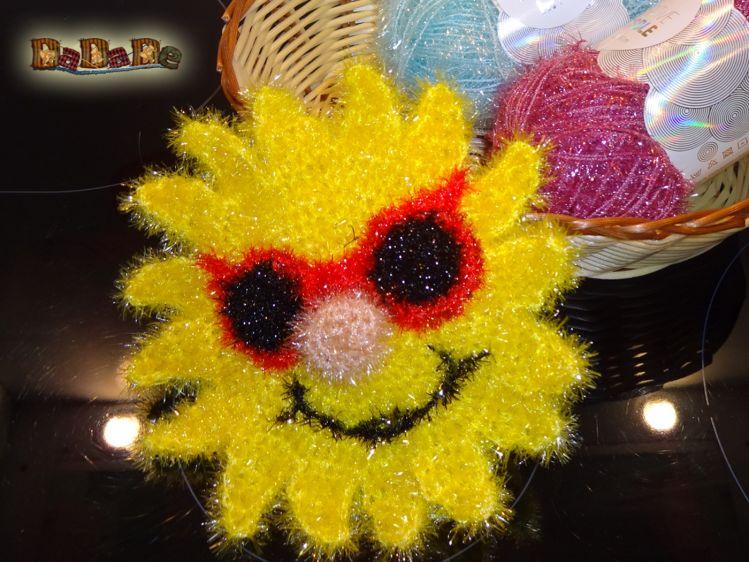 Schwamm Sonne Mit Regenbogen Mütze Für Bad Küche Dadade
