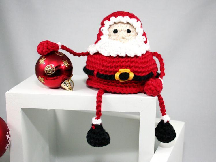 Weihnachtsmann Nikolaus Häkelanleitung Mypatternsde