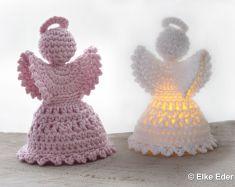 6 Engel Häkeln Glücksengel Schutzengel Liebesengel