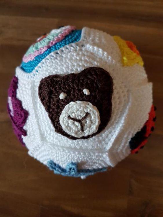 Häkelanleitung Baby-Ball Applikationen - myPatterns.de