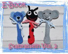 E Book Häkelanleitung Rassel Greifling Spielzeug Mypatternsde