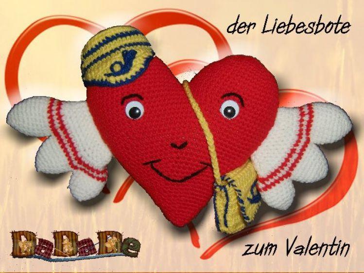 Geschenkverpackung mit Herz, Häkelanleitung von Dadade - myPatterns.de