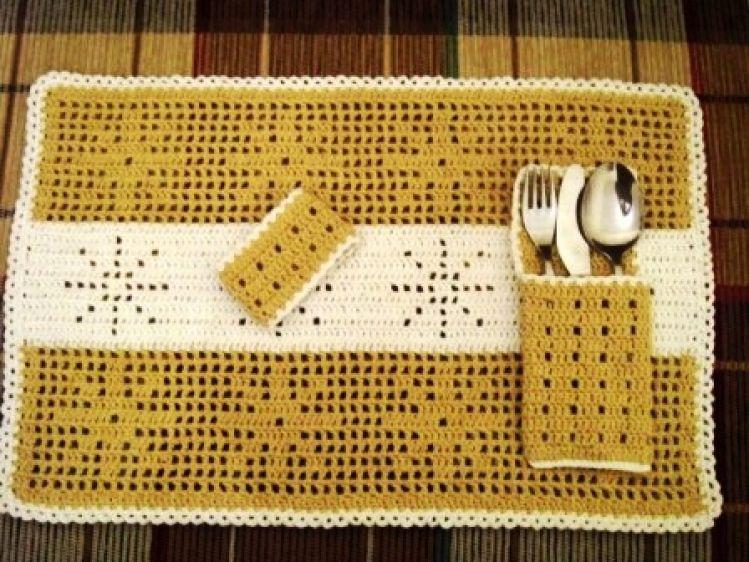 Häkeln Platzdeckchen Tischset Advent Weihnachten Mypatternsde