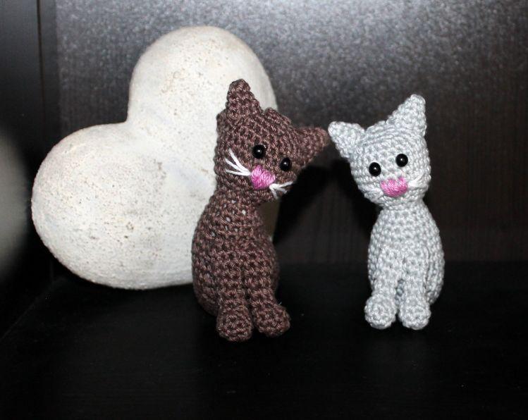 Katze Lilly in Mini Häkelanleitung - myPatterns.de