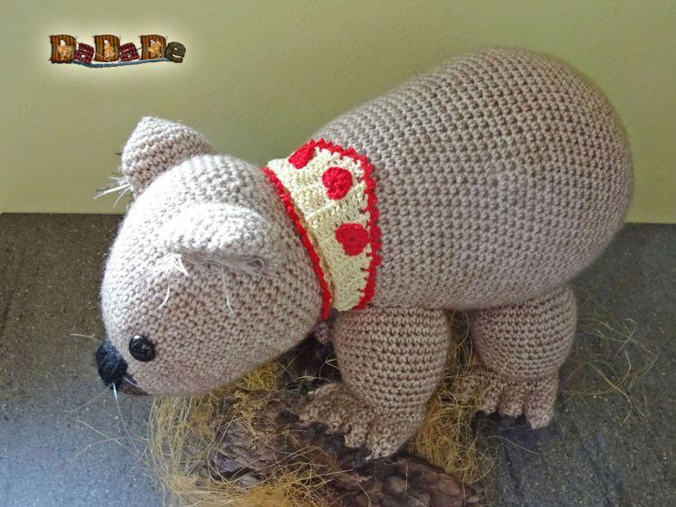Wombat Womby aus Australien, Häkelanleitung von dadade - myPatterns.de