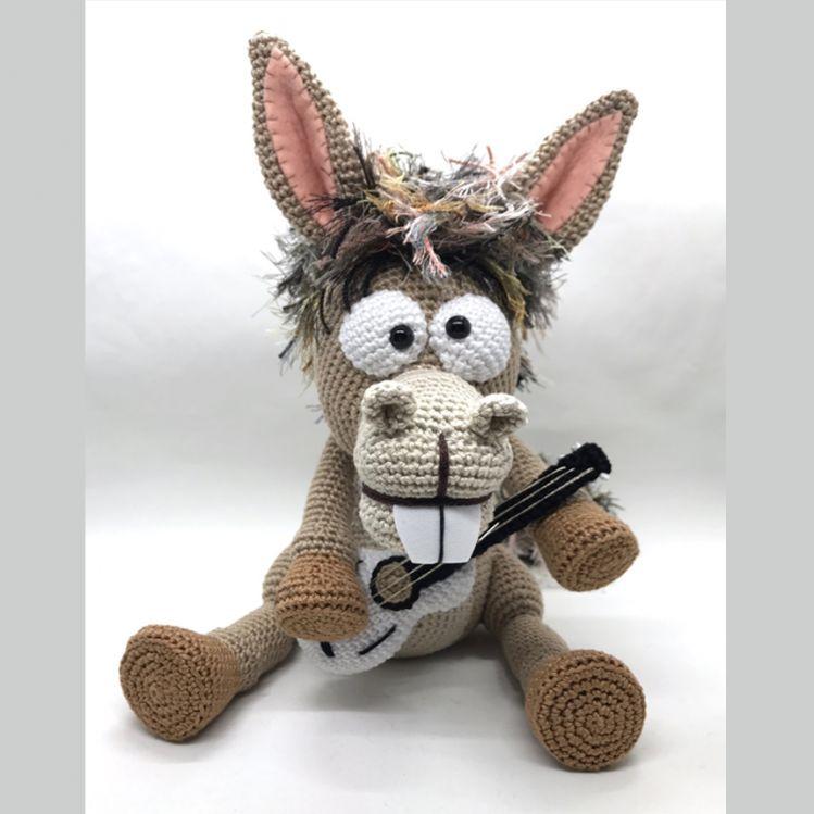 Pablo Der Rocker Esel Häkelanleitung Mypatternsde