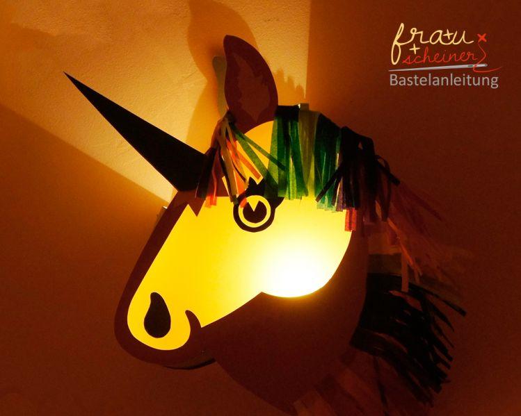 Pferde Laterne Und Einhorn Happy Unicorn Mypatterns De
