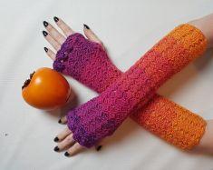 Handschuhe Armstulpen Und Pulswärmer Häkeln Mypatternsde