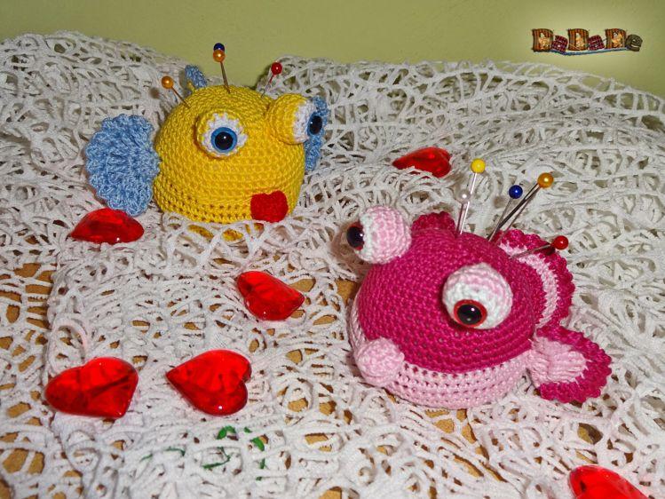 Was für ein schöner Fisch. Tolles Amigurumi :) Free Crochet ... | 562x749