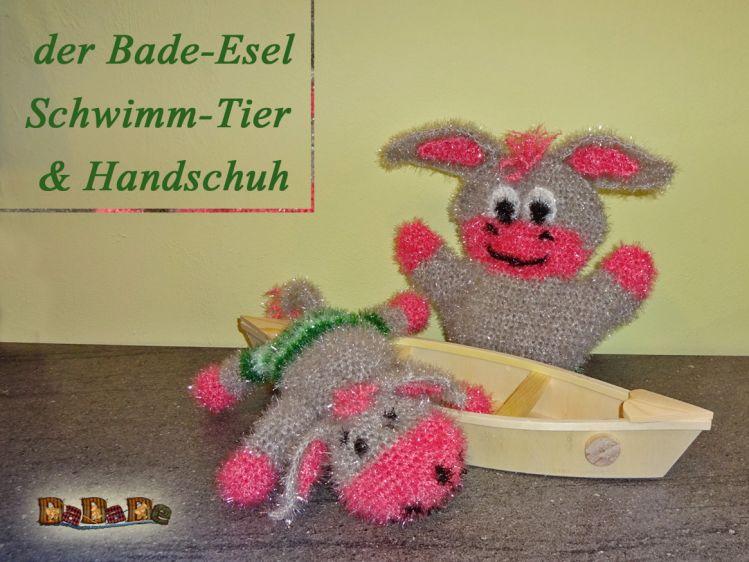 Bade Handschuh Und Tier Esel Gehäkelt Von Dadade Mypatternsde