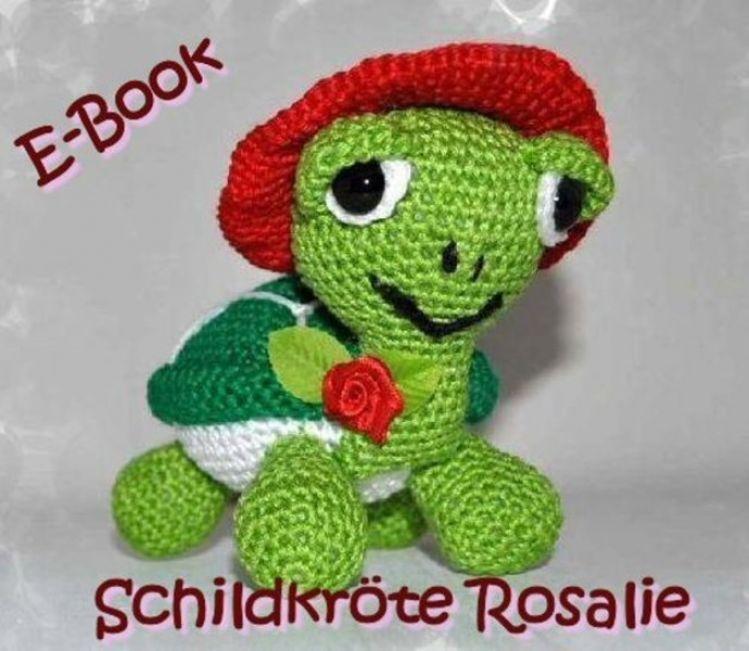 Amigurumi E Book Häkelanleitung Schildkröte Rosalie