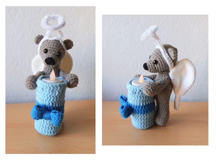 Engel Teddy Teelicht Häkelanleitung Mypatternsde