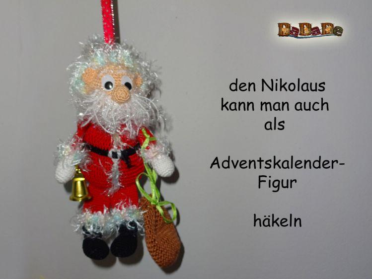 Geschenke Tasche Oder Adventskalender Nikolaus Gehäkelt V