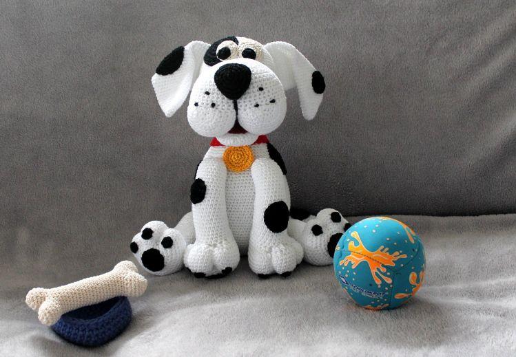Flecki der Hund Häkelanleitung - myPatterns.de