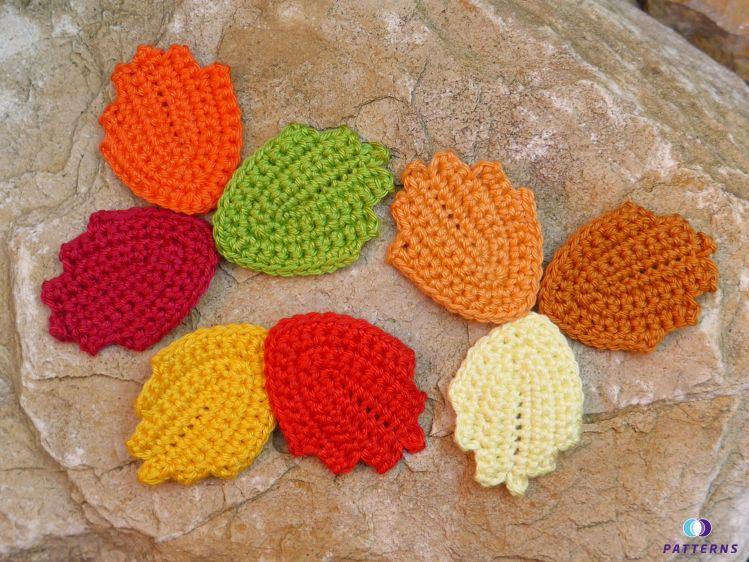 Häkelanleitung Herbstblätter Mypatternsde