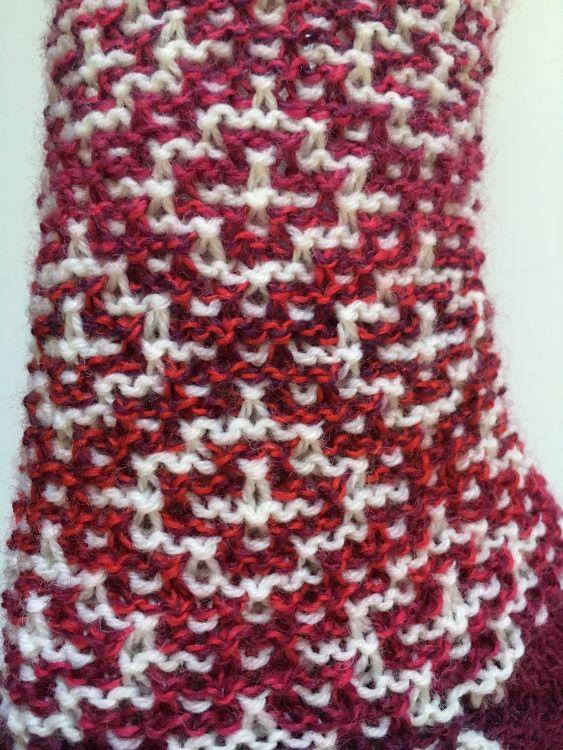 Socken Mosaik Mypatternsde