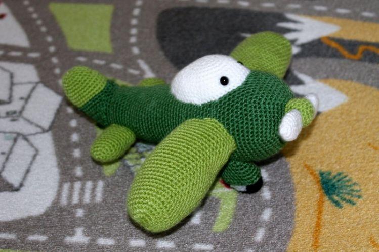 Kleines Grünes Flugzeug Häkelanleitung Mypatternsde