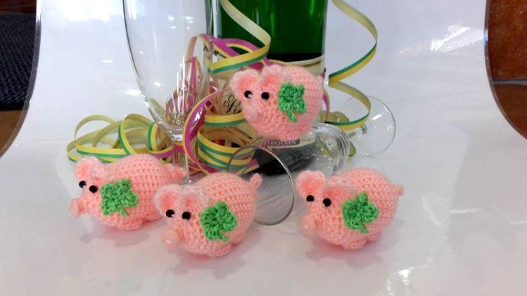 Glücksschweinchen Ansatzlos In Einemstück Gehäkeltanleitung