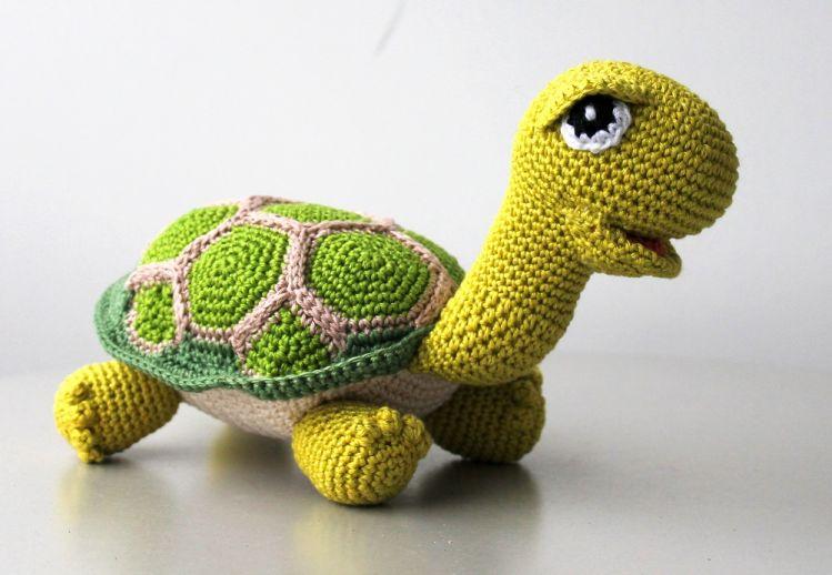 Häkelanleitung Schildkröte Mypatternsde