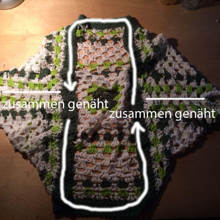 Granny Square Seelenwärmer Mypatternsde