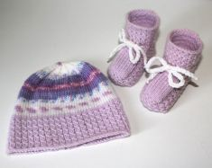 Strickanleitung Baby Set