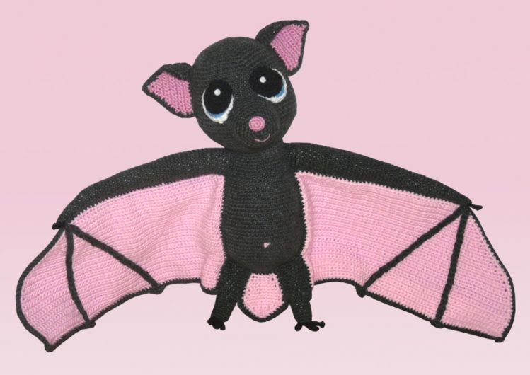 Häkelanleitung Betty Die Fledermaus Mypatternsde