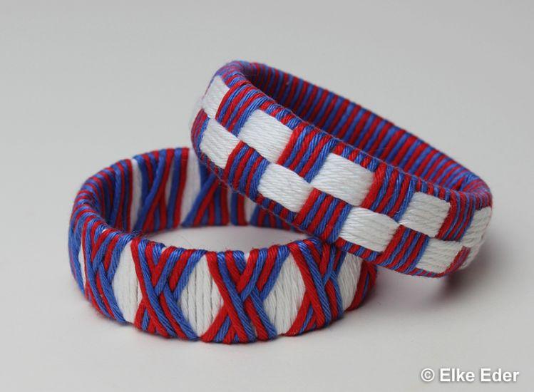 Armreif basteln, Armschmuck, Armbänder aus PET-Flaschen - myPatterns.de