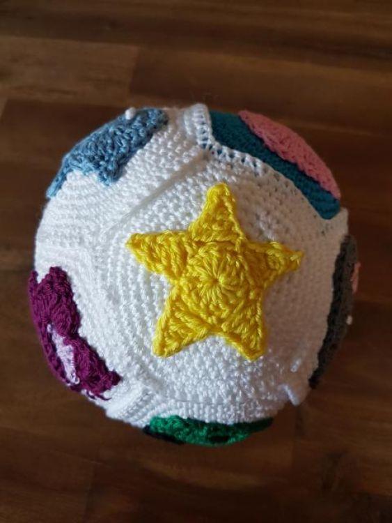Häkelanleitung Baby Ball Applikationen Mypatternsde