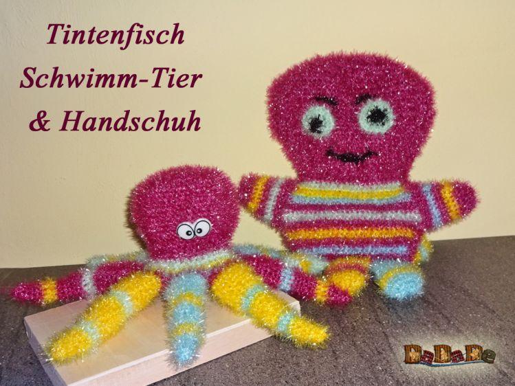 Bade Handschuh Und Tier Tintenfisch Gehäkelt Von Dadade Mypatternsde