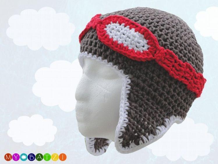 Mütze Für Piloten Mit Langen Ohren Und Brille Mypatternsde