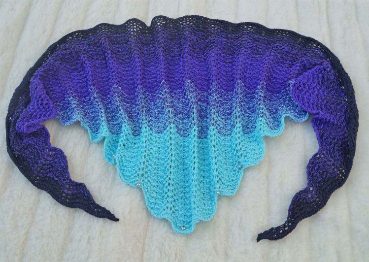 Ondelette Hübsches Tuch Mit Wellenmuster Mypatternsde
