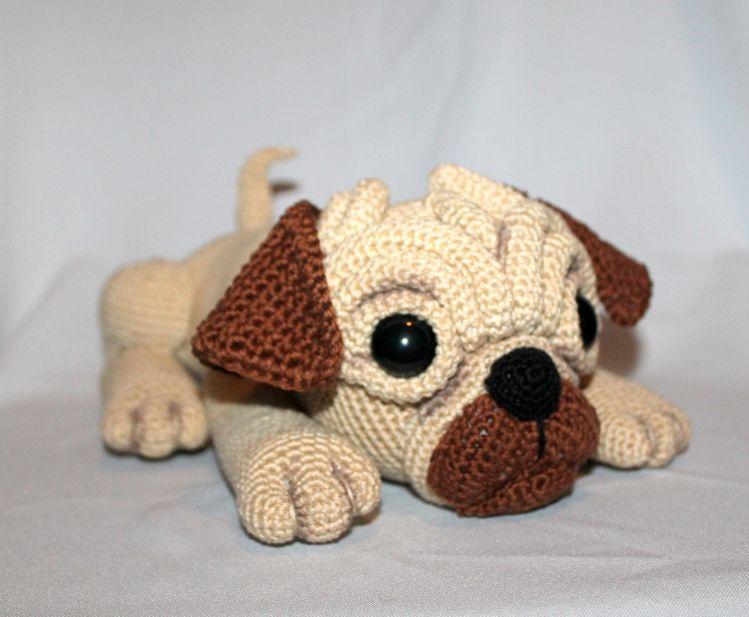crochetmama - Häkelanleitung Mops CHANELLE | myboshi | 617x749