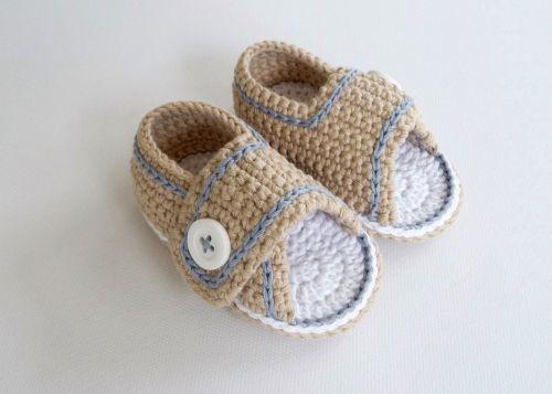 Häkelanleitung Für Babysandalen Babyschuhe Häkeln No2
